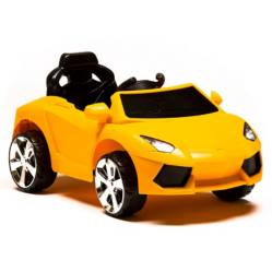 Auto a Batería 6V Amarillo - Control, luz y sonido