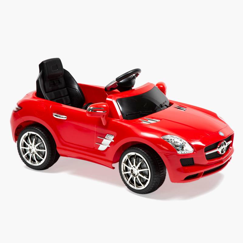 Scoop - Auto a Batería Mercedes 6V Rojo