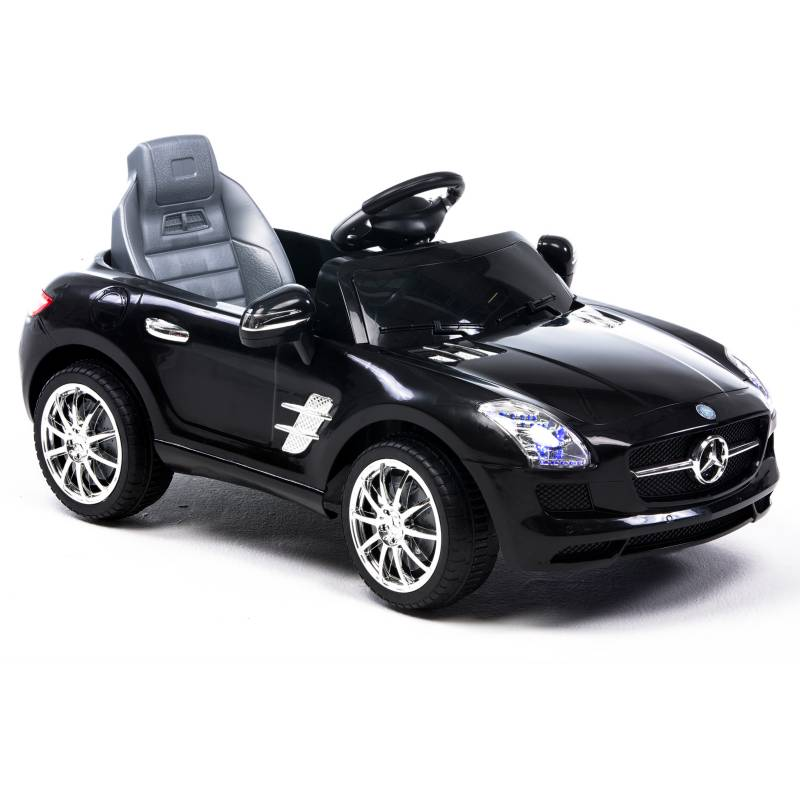 Scoop - Auto a Batería Mercedes 6V Negro