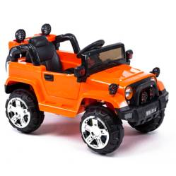 Auto a Batería 6V Naranjo