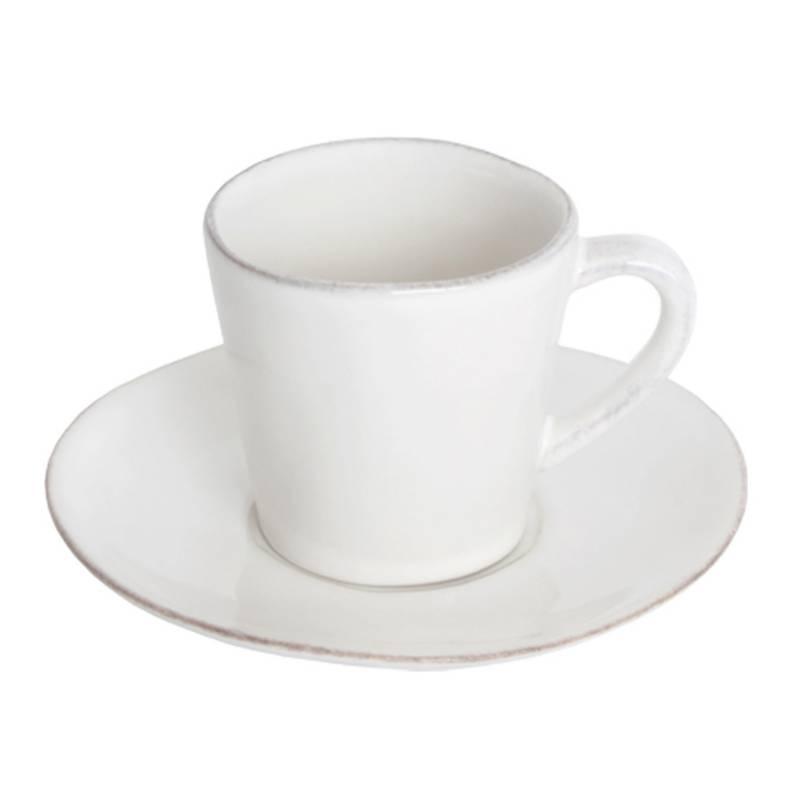 Costa Nova - Taza Cafe Mas Plato Blan