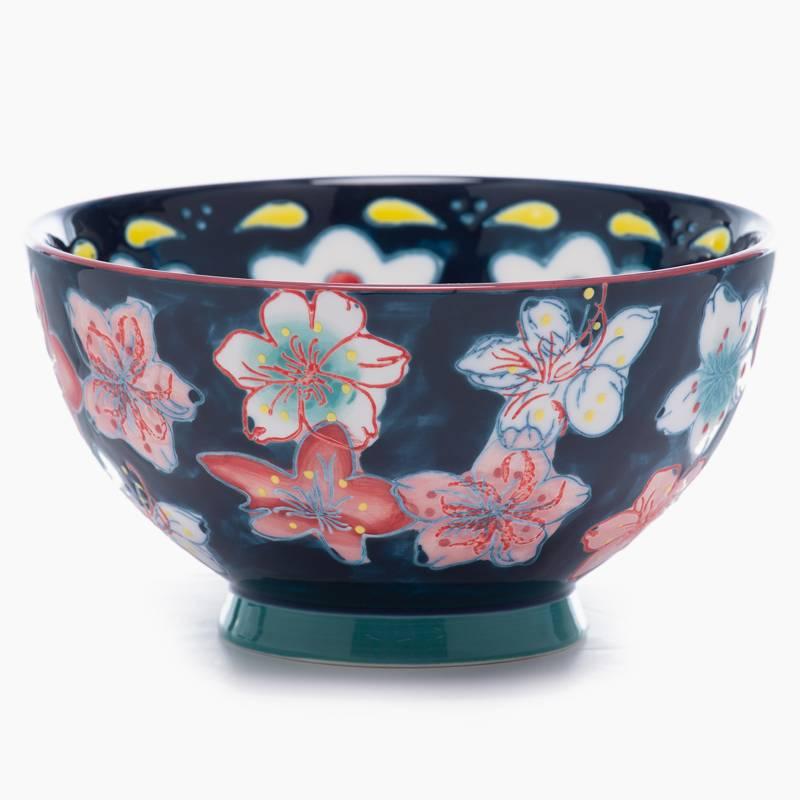 ROBERTA ALLEN - Bowl 16 Cms Flori Azul