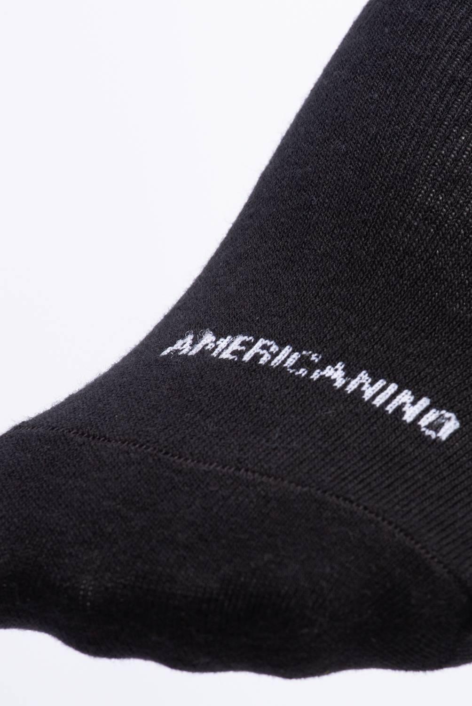 Americanino - Pack de 3 Zoquetes Negros