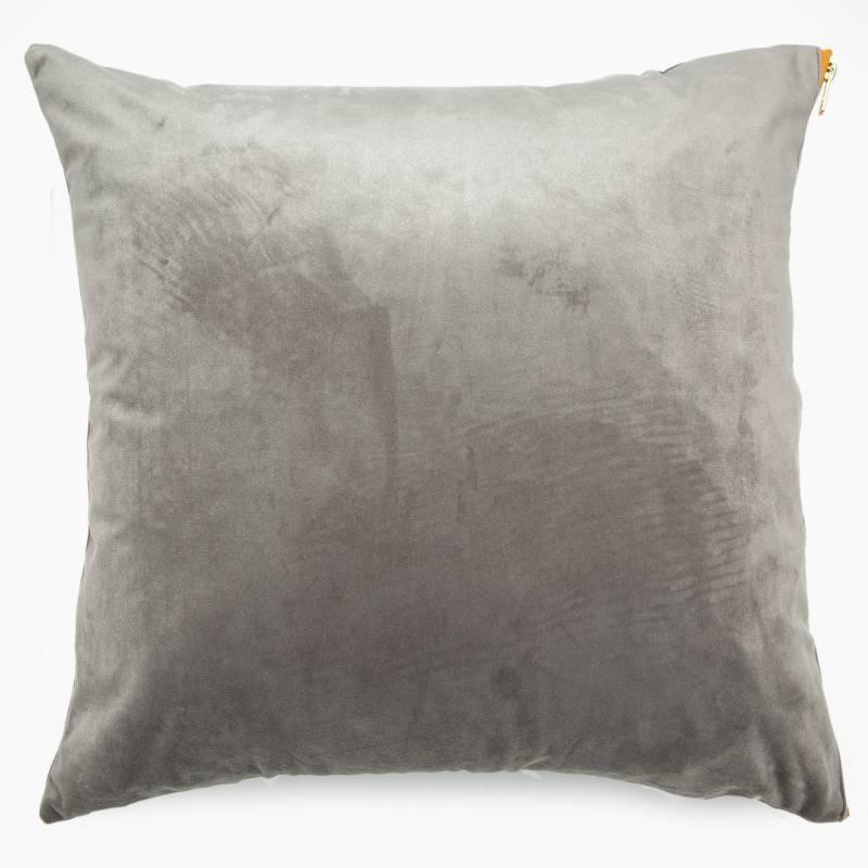 Roberta Allen - Funda de cojín Zipper Gris 45x45 cm