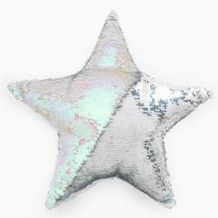 Mica Kids - Cojín infantil Estrella Bordado 45x45 cm