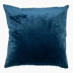 Funda de cojín Zipper Azul 45x45 cm