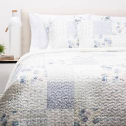 Textil Vina - Cubrecama Patch Azul