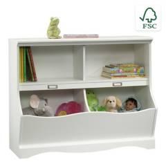 Sauder - Librero Pogo Blanco
