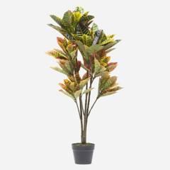 MICA - Planta Croton Artificial