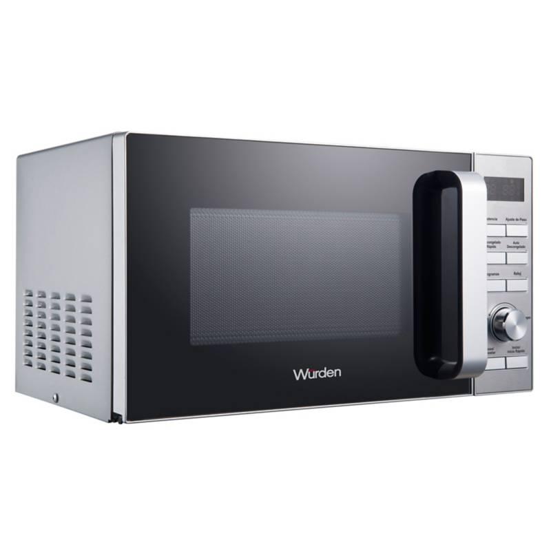 WURDEN - Microondas 20 lt WMW-20DSILVER