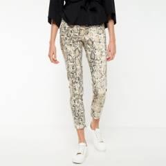BASEMENT - Pantalón Regular Tiro Medio Mujer