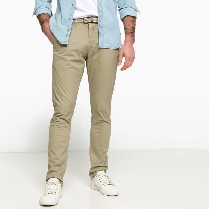 Basement - Pantalón Casual Slim Fit