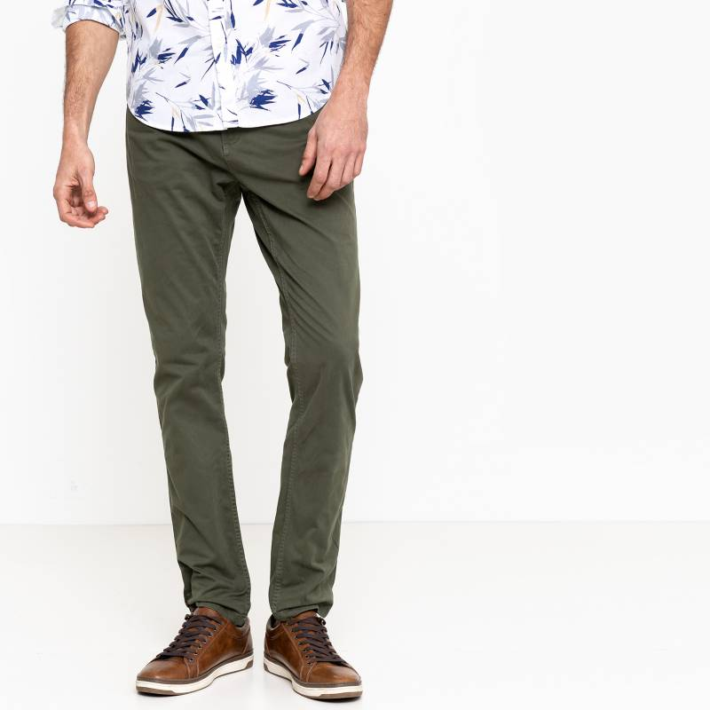 Basement - Pantalón Casual Skinny Fit