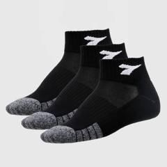 Diadora - Pack de 3 Calcetines deportivos Todo deporte Hombre QUARTER3P.ST