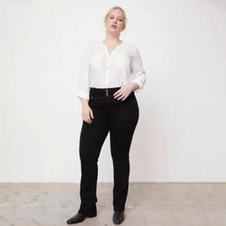 ELLE - Jeans Cloe Recto Tiro Alto Mujer