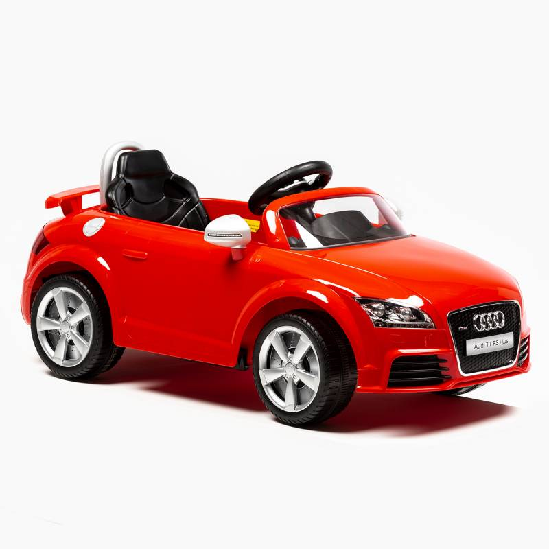Audi - Auto a Batería 6V Audi TT RS Plus Rojo