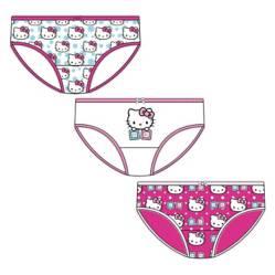 Pack de 24 Sets de 3 Calzones Bebé Hello Kitty