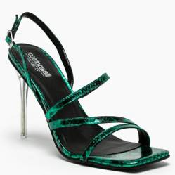 Sandalia Mujer Cuero Green