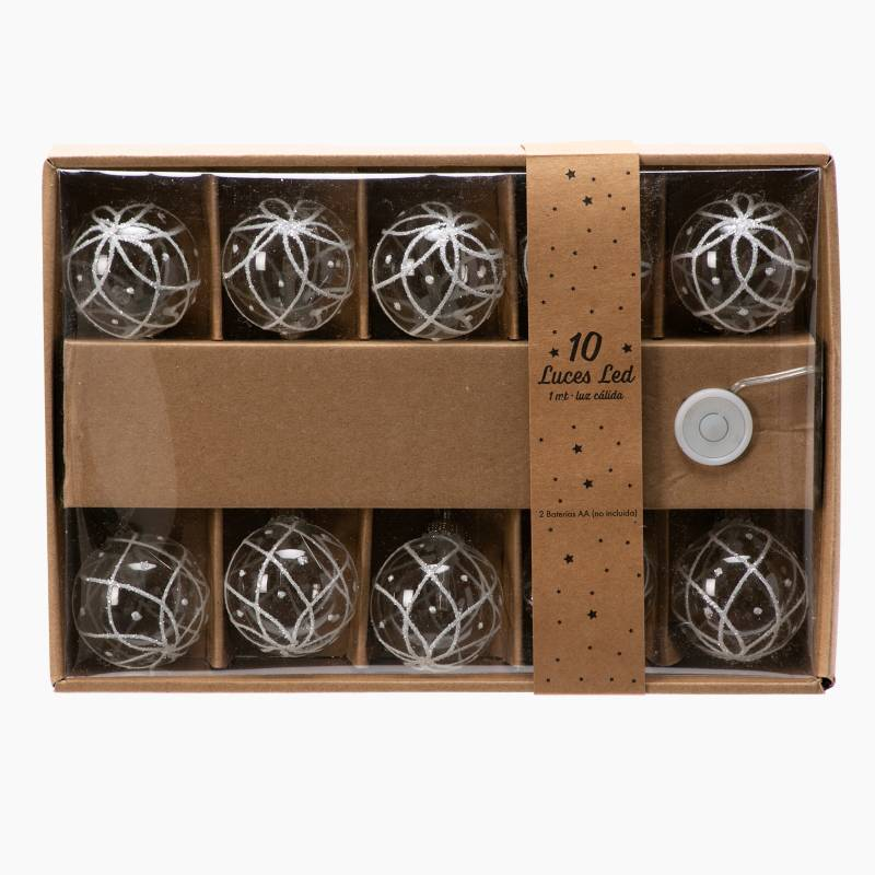 Mica - Guia x 10 Luces Ball