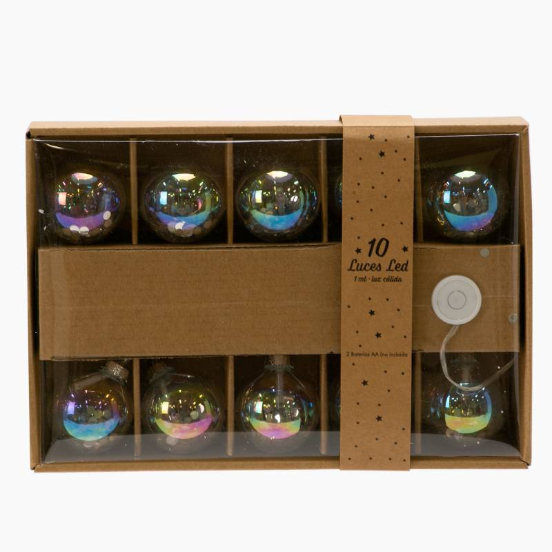 Mica - Guia x 10 Luces Ball