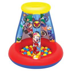 Set Inflable Mickey con 15 Pelotas