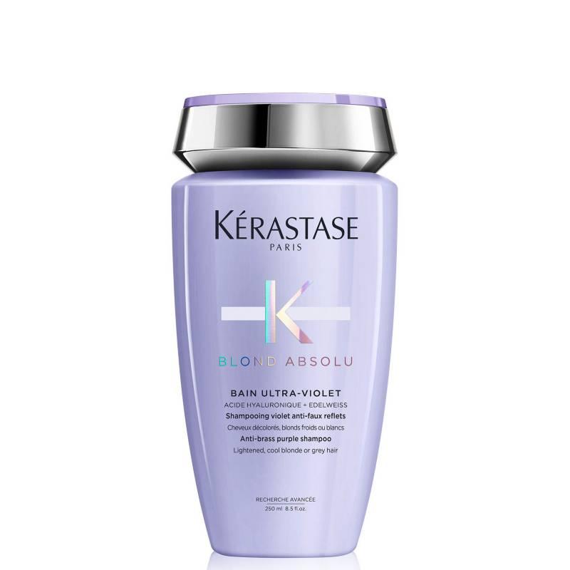 KERASTASE - Shampoo Cabello Rubio Bain Ultra-Violet Blond Absolu 250 Ml