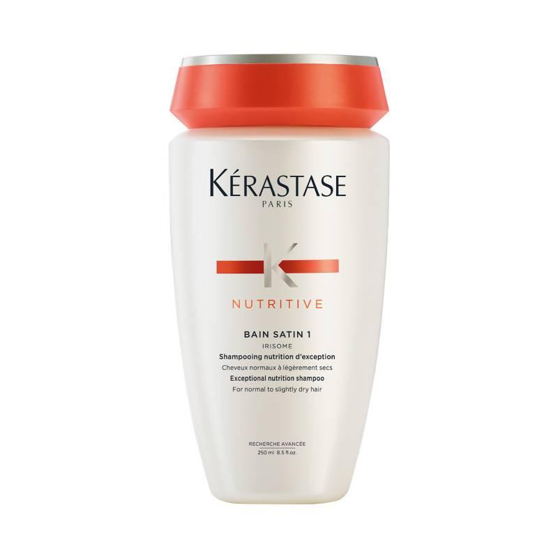 KERASTASE - Shampoo Hidratación Cabello Fino Bain Satin 1 Nutritive 250 ml