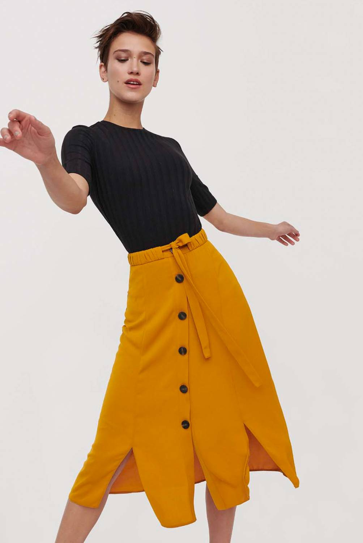 Basement - Falda Maxi Mujer