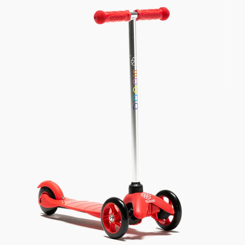 Scoop - Scooter 3 ruedas pequeno Fluor Red