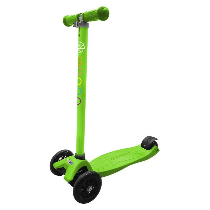 Scoop - Scooter 3 ruedas Camo