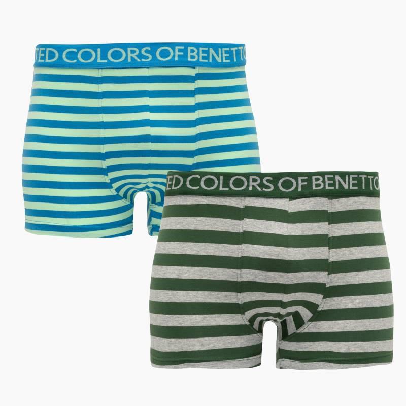 Benetton - Boxer Pack de 2 Algodón Supima