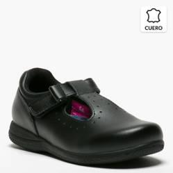 Zapato Escolar Niña Cuero Ba Te II
