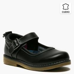 Zapato Escolar Niña Cuero Ba Mary II