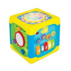 WINFUN - Cubo Interactivo Con Luces Y Sonidos