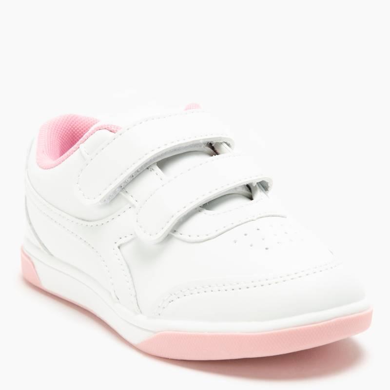 Diadora - Zapatilla Escolar Niña Blanca