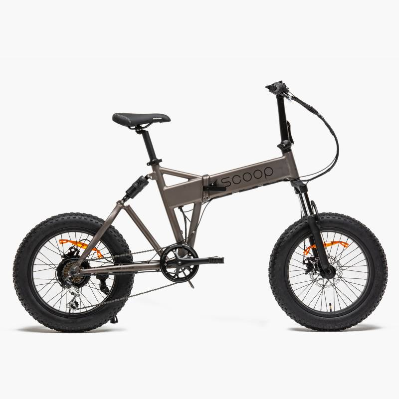 Scoop - Bicicleta Eléctrica Fatbike Aro 20