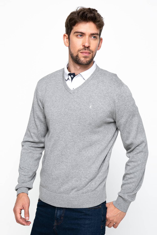 Newport - Sweater de Algodón Hombre