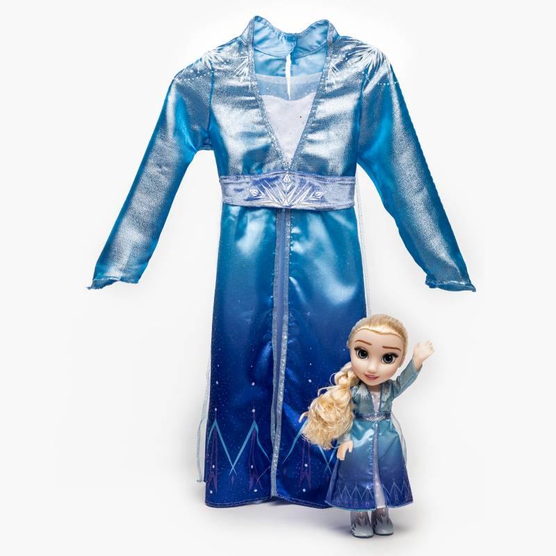Frozen - Muneca mas vestido Elsa F2