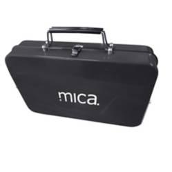 Mica - Parrilla Portátil Plegable Negro