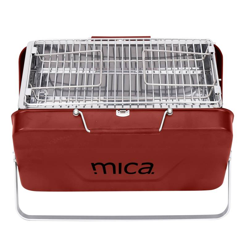 Mica - Parrilla Portátil Plegable Rojo