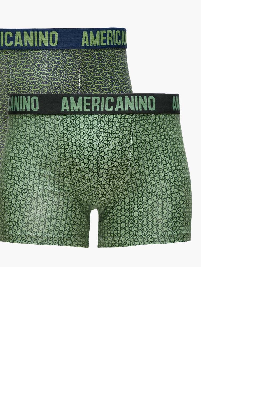 Americanino - Pack de 2 Boxer de Algodón Hombre