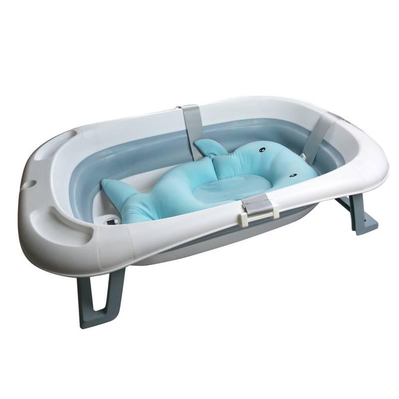 TVALUE - Bañera Plegable Happy Shower con Termómetro