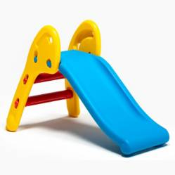 plastic slide azul