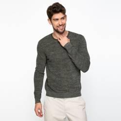 Basement - Sweater de Algodón Hombre