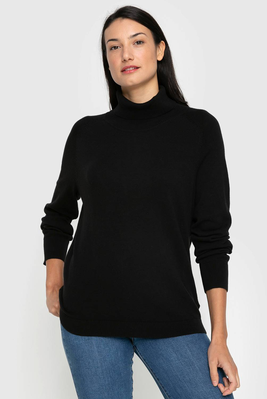 University Club - Sweater de Algodón Manga Larga Mujer