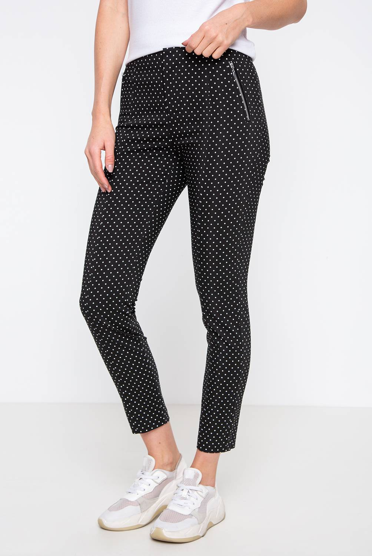 BASEMENT - Pantalón De Algodón Skinny Fit Mujer