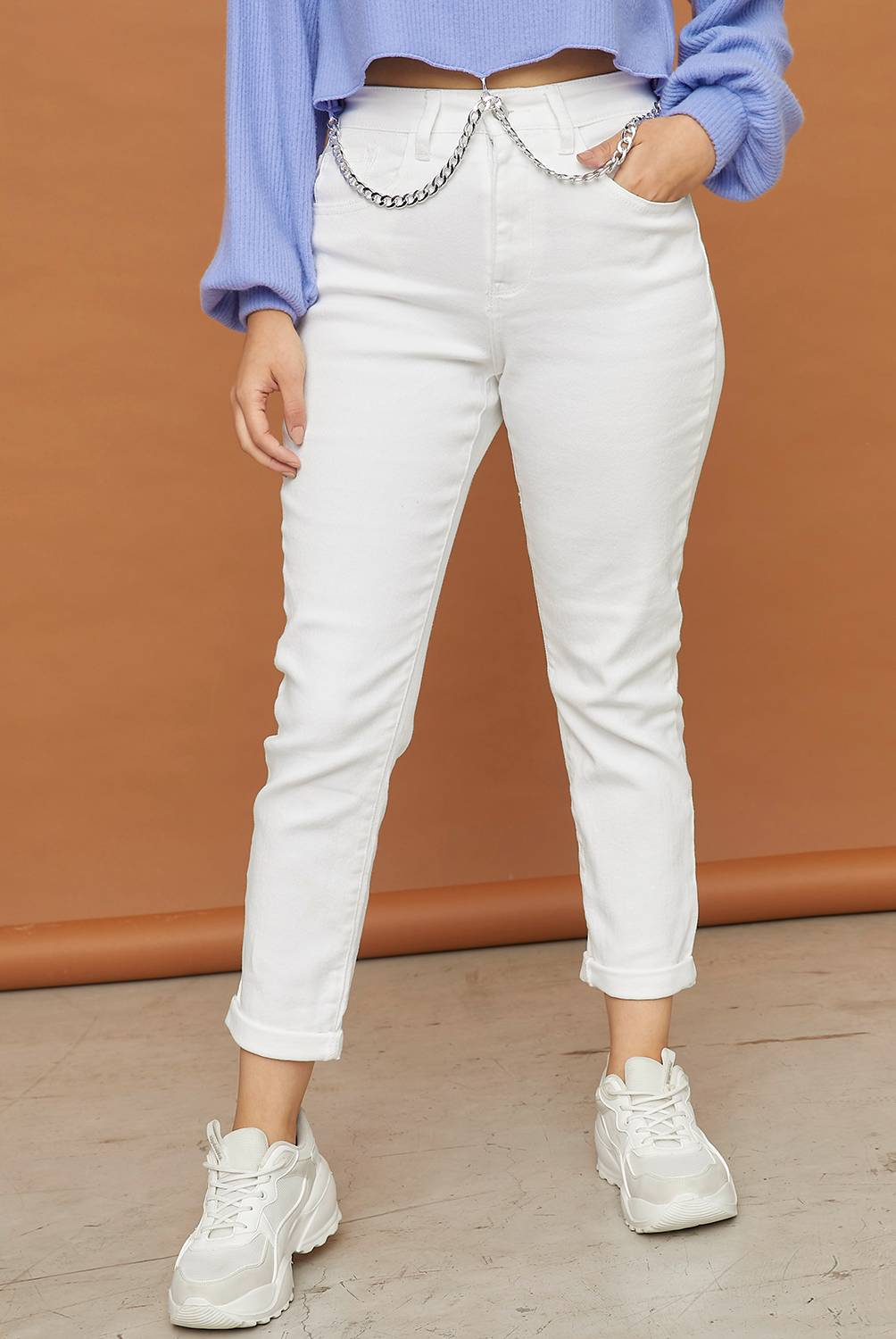 Sybilla - Jeans Mom Fit Mujer