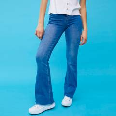 SYBILLA - Jeans Flare Mujer