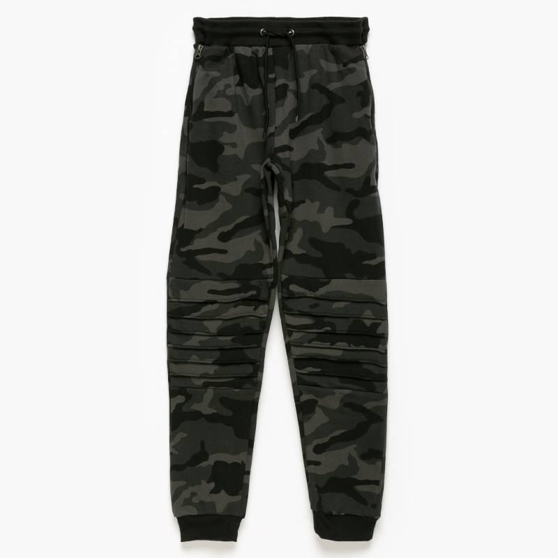 Federation - Pantalón buzo niño algodón jogger camuflaje