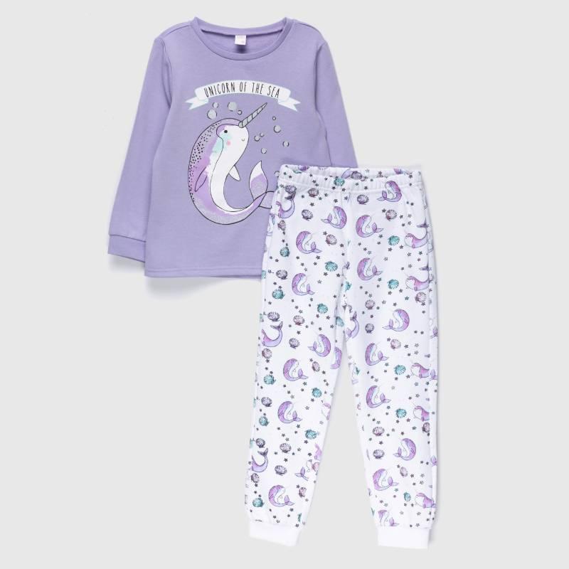 Yamp - Pijama niña franela 2 piezas